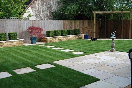 Garden designer oxfordshire profile for Rural garden designs