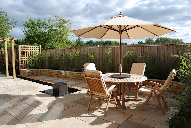 Landscape garden design oxfordshire for Garden design oxfordshire